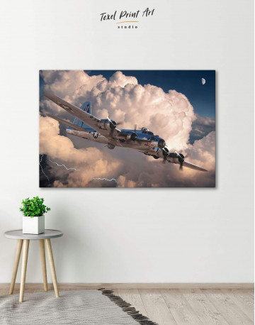 Military Aircraft Canvas Wall Art