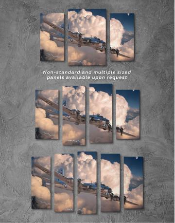 Military Aircraft Canvas Wall Art - image 2