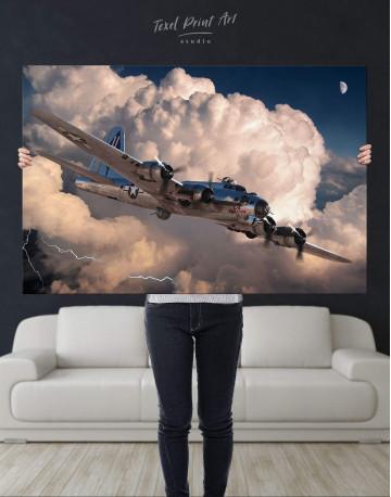 Military Aircraft Canvas Wall Art - image 4