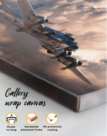 Military Aircraft Canvas Wall Art - image 5