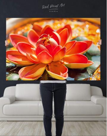 Lotus Canvas Wall Art - image 4