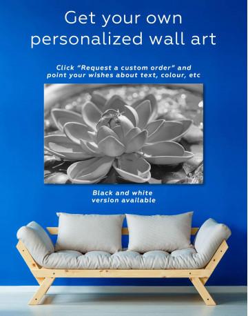 Lotus Canvas Wall Art - image 1