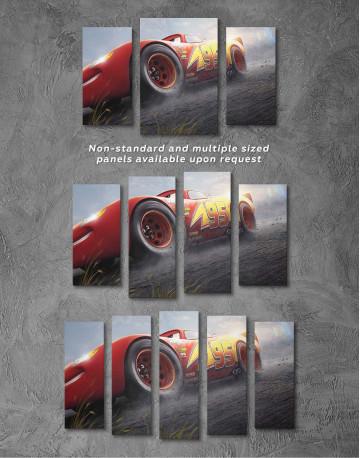 Lightning McQueen Cars 3 Canvas Wall Art - image 2
