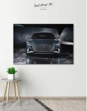 Steel Audi A8 Canvas Wall Art