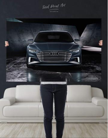 Steel Audi A8 Canvas Wall Art - image 4