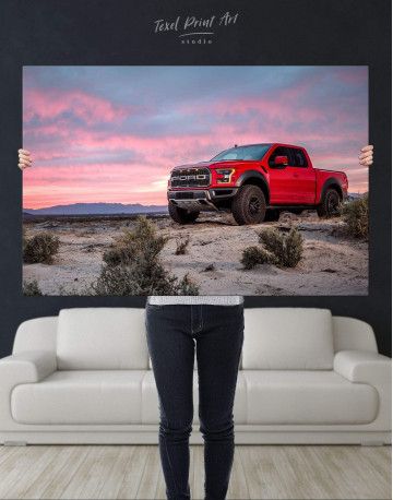 Ford F-150 Raptor Canvas Wall Art - image 4