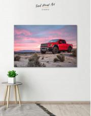 Ford F-150 Raptor Canvas Wall Art