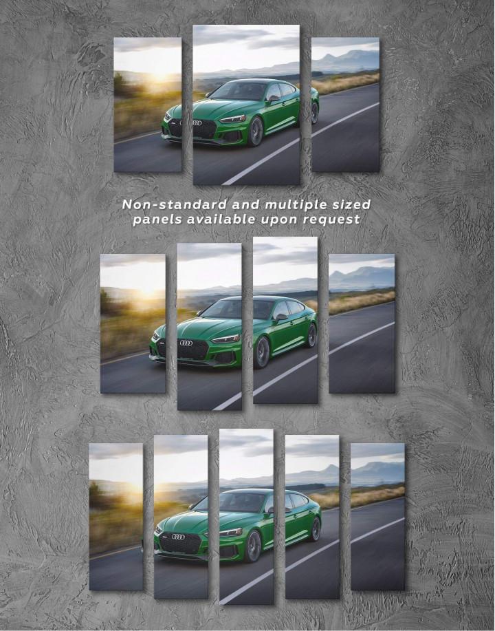 Audi RS5 Sportback Canvas Wall Art - Image 4
