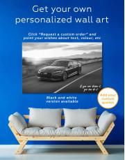 Audi RS5 Sportback Canvas Wall Art - Image 5