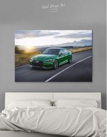 Audi RS5 Sportback Canvas Wall Art