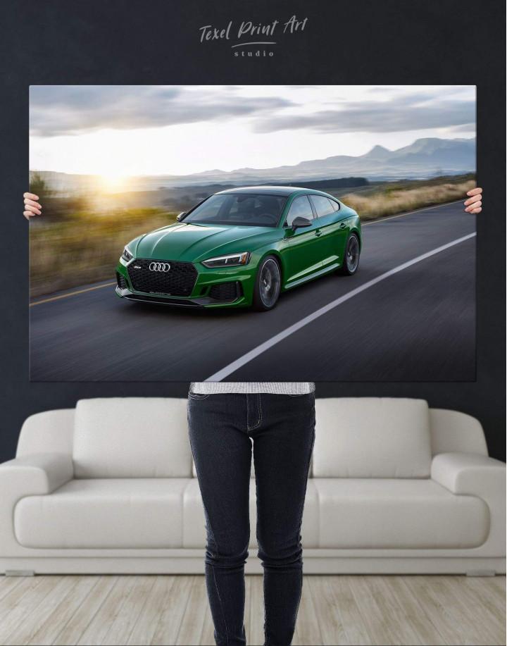 Audi RS5 Sportback Canvas Wall Art - Image 2