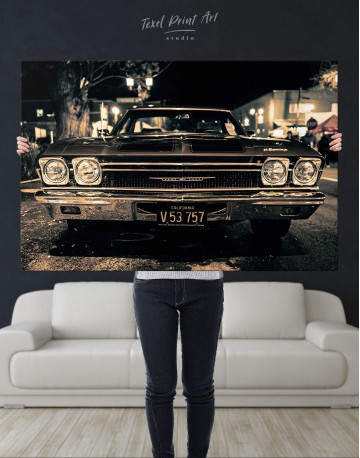 Vintage Car Canvas Wall Art - image 4