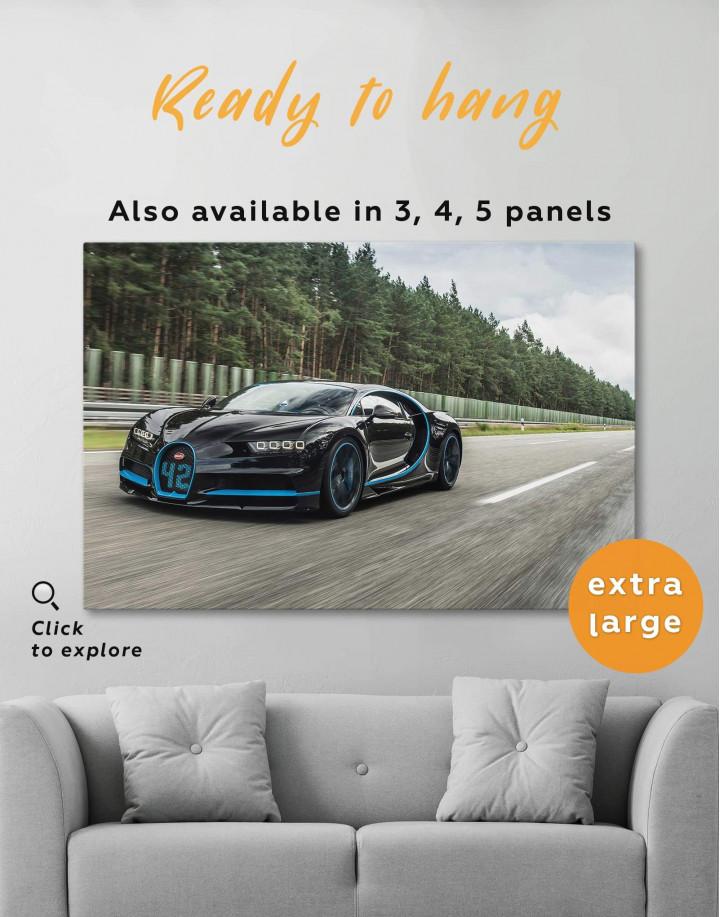 Bugatti Chiron Canvas Wall Art