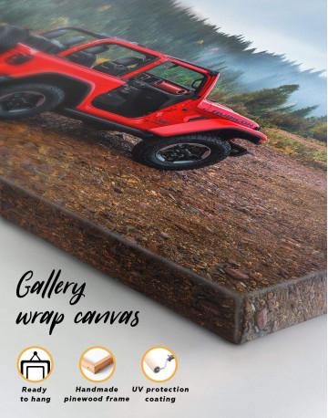 Jeep Wrangler Canvas Wall Art - image 1