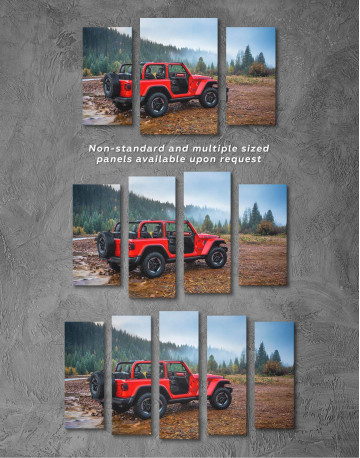Jeep Wrangler Canvas Wall Art - image 4