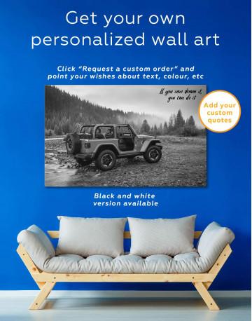 Jeep Wrangler Canvas Wall Art - image 5