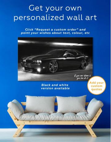 Dodge Challenger Canvas Wall Art - image 4