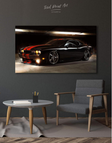 Dodge Challenger Canvas Wall Art