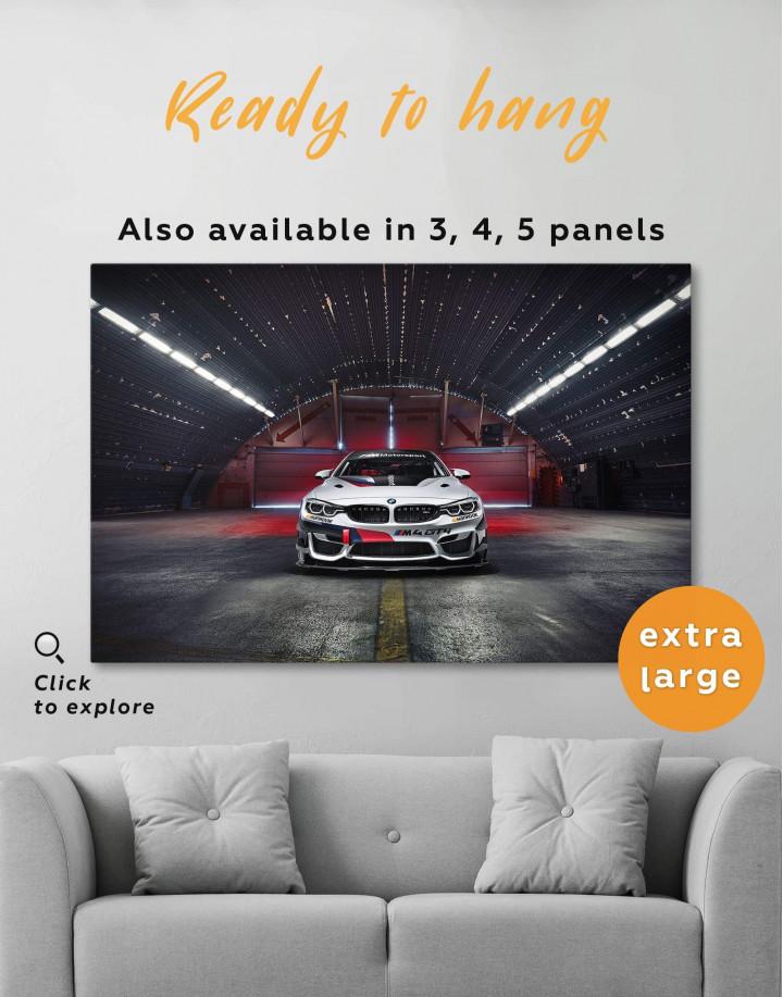 BMW M4 Canvas Wall Art - Image 6