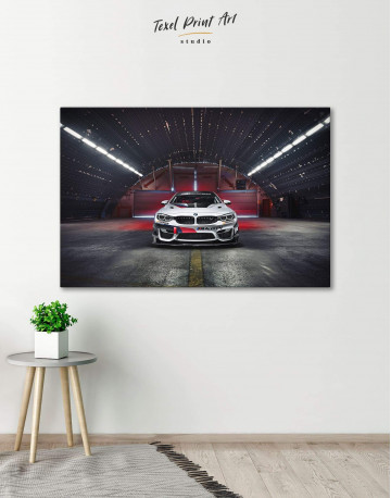 BMW M4 Canvas Wall Art
