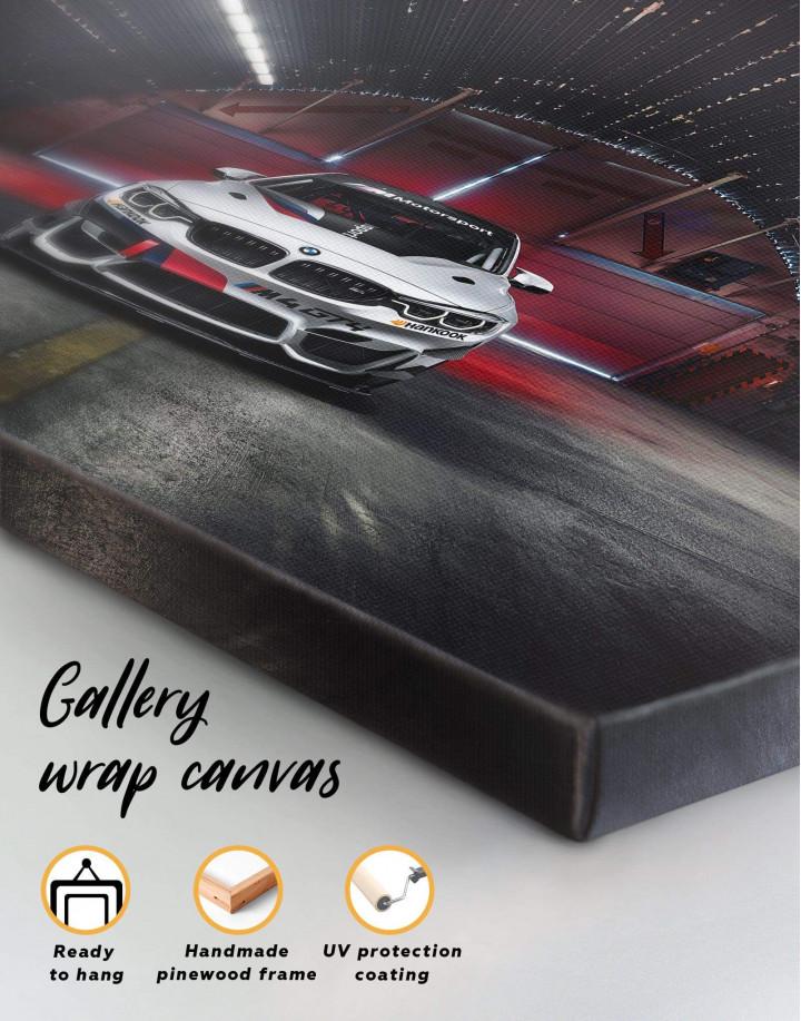 BMW M4 Canvas Wall Art - Image 5