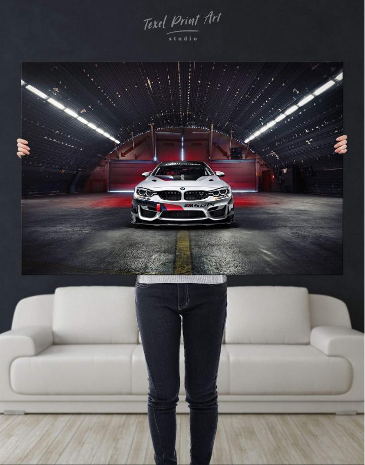 BMW M4 Canvas Wall Art - Image 4