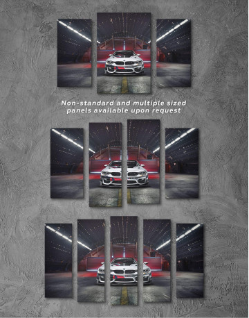 BMW M4 Canvas Wall Art - image 2
