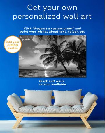 Coast Sunset Canvas Wall Art - image 5