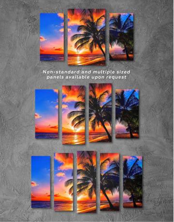 Coast Sunset Canvas Wall Art - image 4