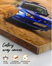 Subaru Impreza WRX STi Rally Canvas Wall Art - Image 1