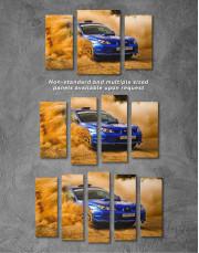 Subaru Impreza WRX STi Rally Canvas Wall Art - Image 4