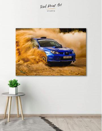 Subaru Impreza WRX STi Rally Canvas Wall Art