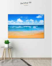 Paradise Beach Canvas Wall Art