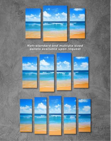 Paradise Beach Canvas Wall Art - image 4