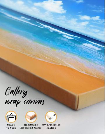 Paradise Beach Canvas Wall Art - image 1