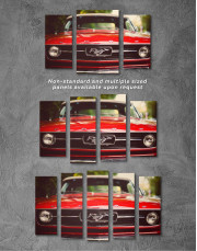 Ford Mustang 1967 Canvas Wall Art - Image 4