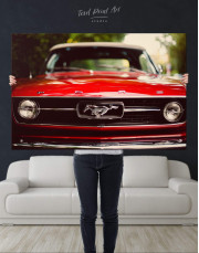 Ford Mustang 1967 Canvas Wall Art - Image 2