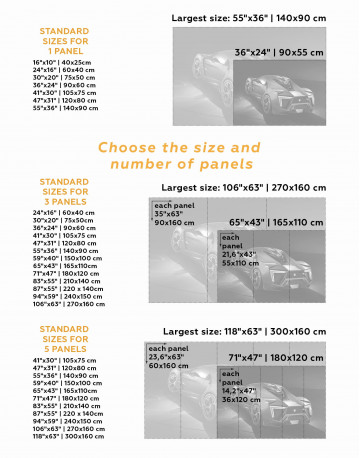 Lykan Hypersport Canvas Wall Art - image 3