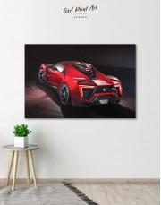 Lykan Hypersport Canvas Wall Art - Image 0