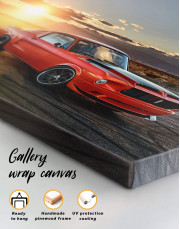 Ford Mustang Canvas Wall Art - Image 5