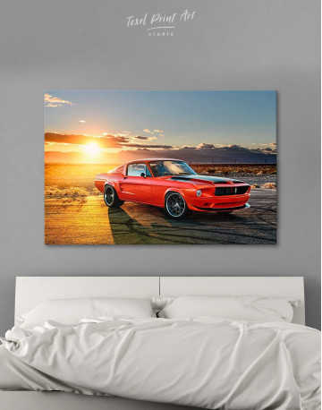 Ford Mustang Canvas Wall Art