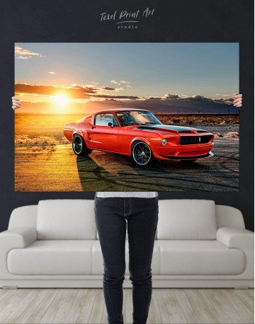 Ford Mustang Canvas Wall Art - image 4