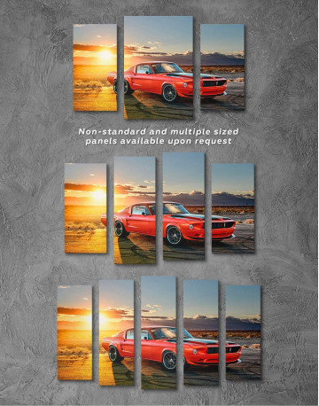 Ford Mustang Canvas Wall Art - image 2