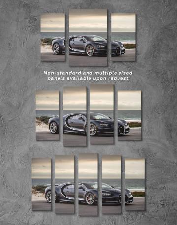 Bugatti Chiron Sports Car Canvas Wall Art - image 2