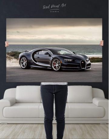Bugatti Chiron Sports Car Canvas Wall Art - image 4