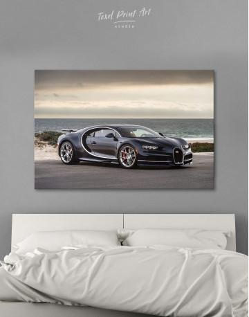 Bugatti Chiron Sports Car Canvas Wall Art