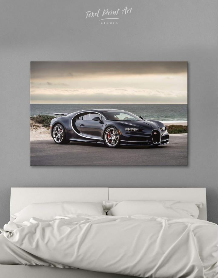 Bugatti Chiron Sports Car Canvas Wall Art - Image 0