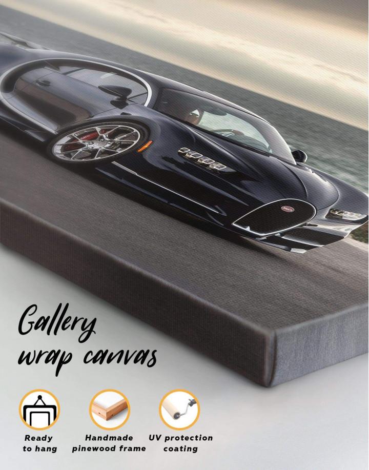 Bugatti Chiron Sports Car Canvas Wall Art - Image 5