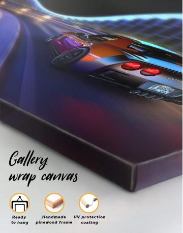 Speedy Chevrolet Corvette Canvas Wall Art - image 5