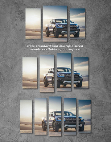 Powerful Ford Raptor Canvas Wall Art - image 2